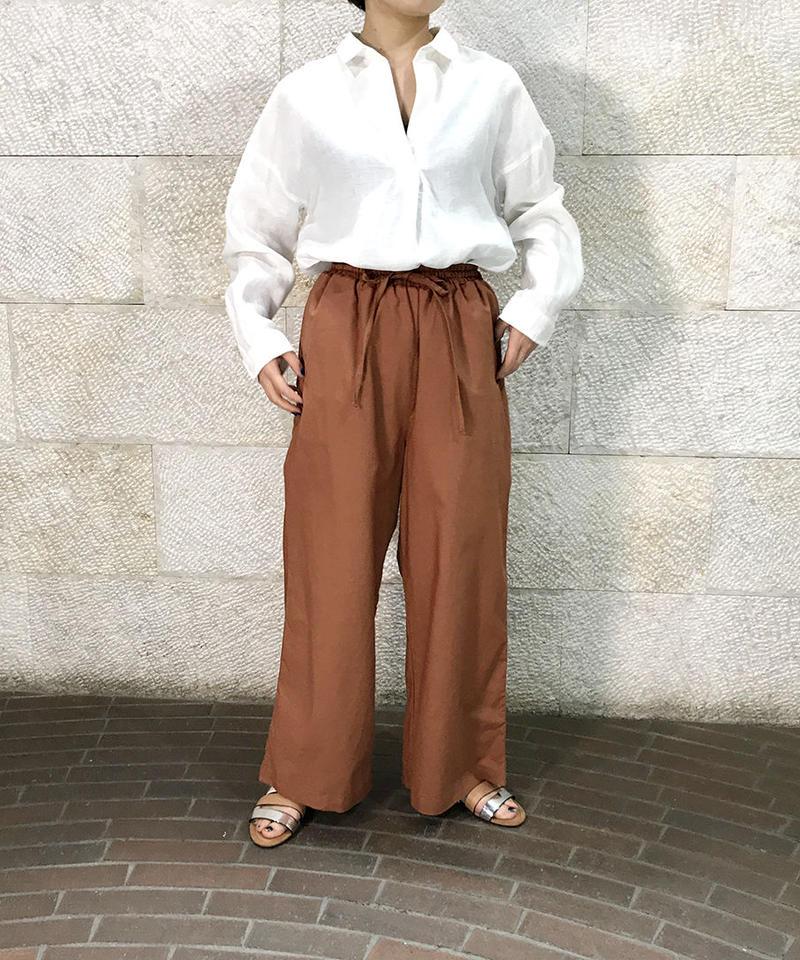 """Linen cotton Easy pants """"3color""""[211927571]"""