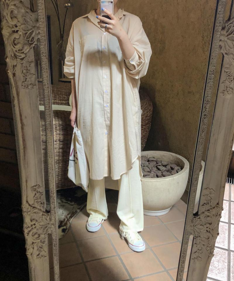 """Boil simple shirts dress """"4color""""[203927686]"""