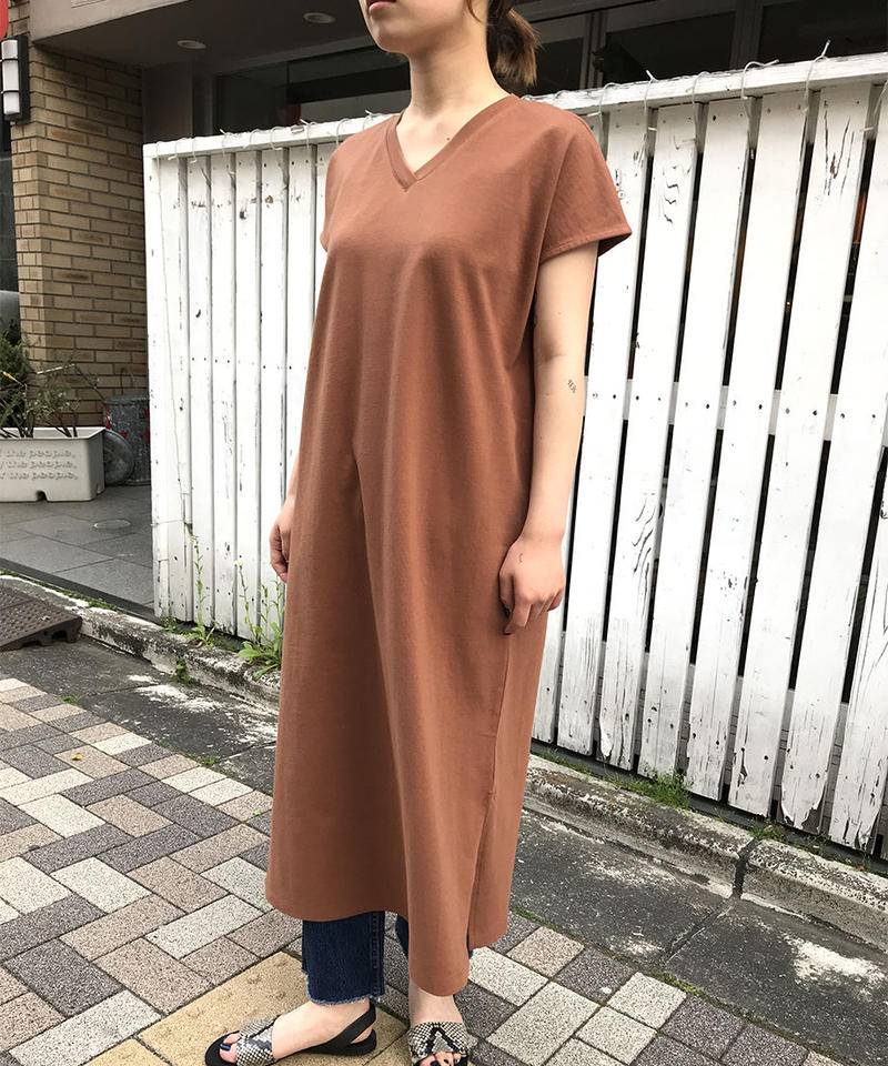 "32s/-  Jersey dress ""2color"" [201927609]"