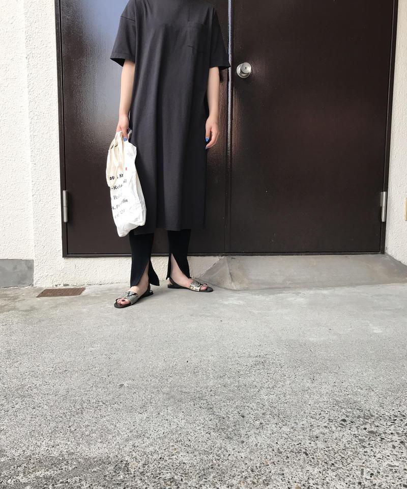 """21/- OE Jersey simple dress  """"2color"""" [203947681]"""