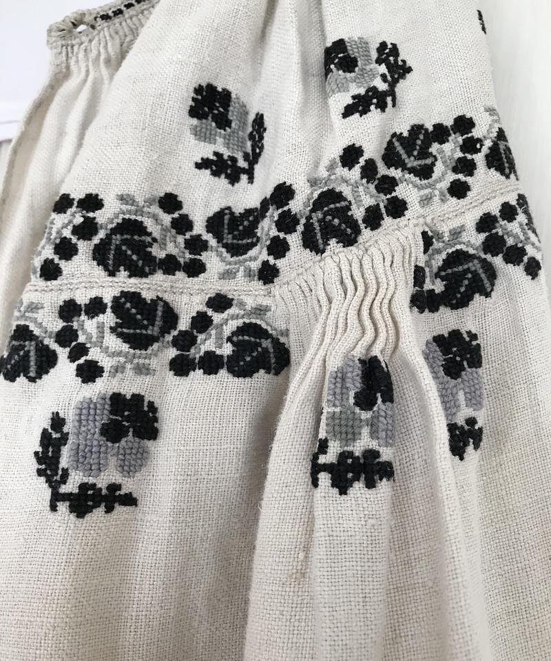 Vyshyvanka homespun vintage dress #4