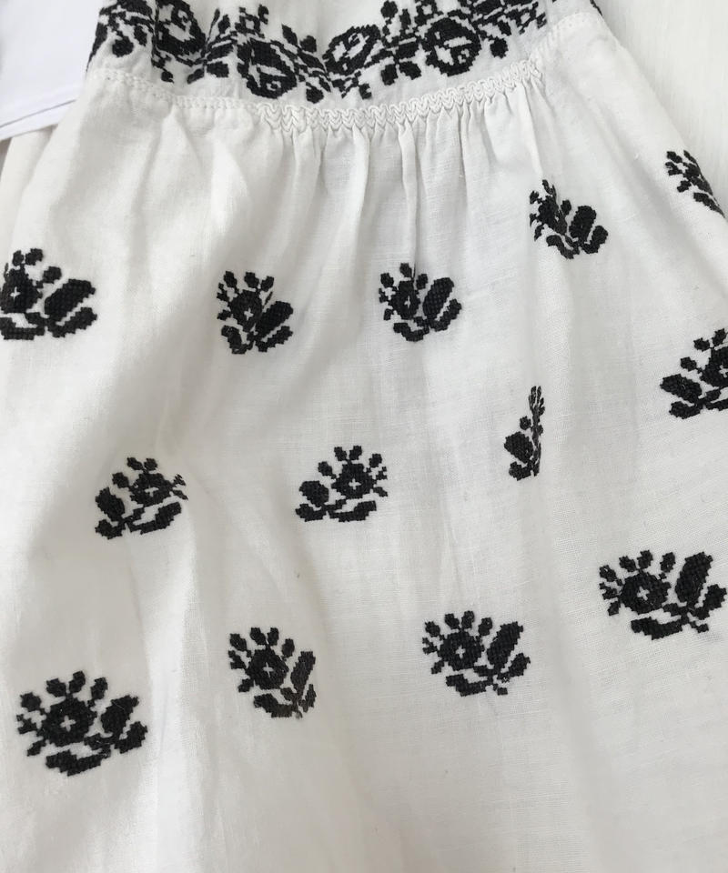 Vyshyvanka homespun vintage dress #3