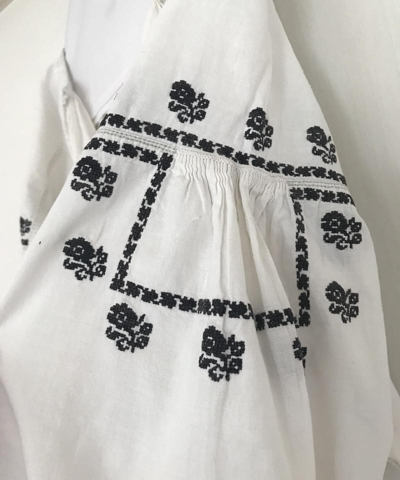 Vyshyvanka homespun vintage dress #5