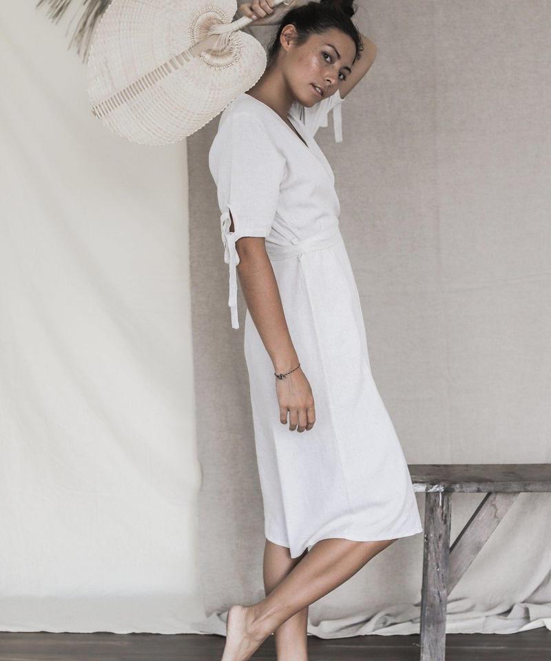 Aurora Wrap Dress