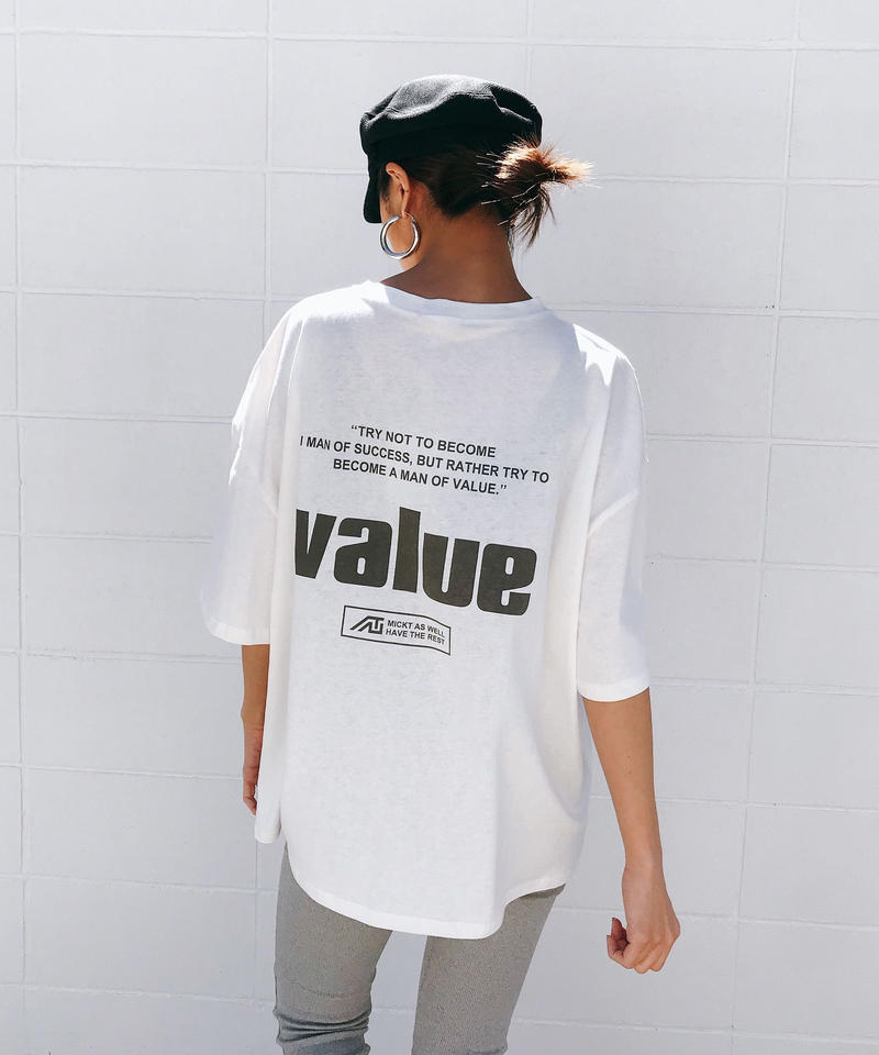 value Tシャツ