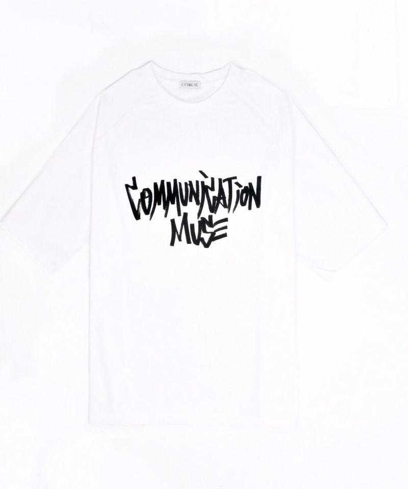 """COMMUNICATION MUSE"" TEE【WHT】"