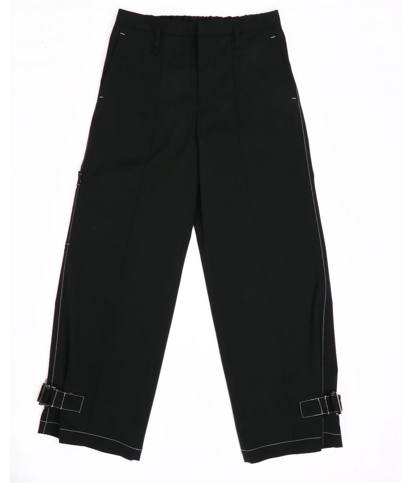 HEM LIFTING WIDE PANTS【BLK】