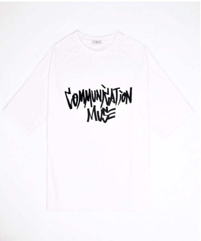 """COMMUNICATION MUSE"" TEE【WHT】"