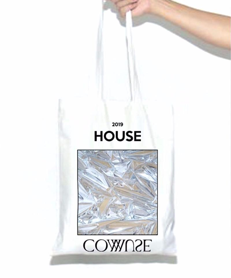 【残り僅か】HOUSE COMMUSE  TOTE BAG(WHT)