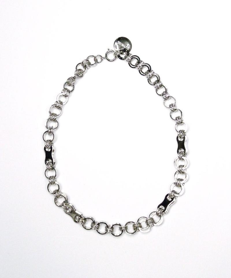 L W HOOP NECKLACE【SLV】