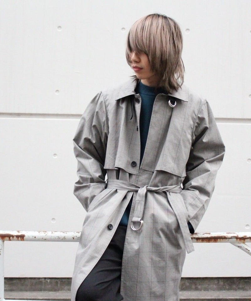 DIVERSITY TRENCH COAT【CHECK】
