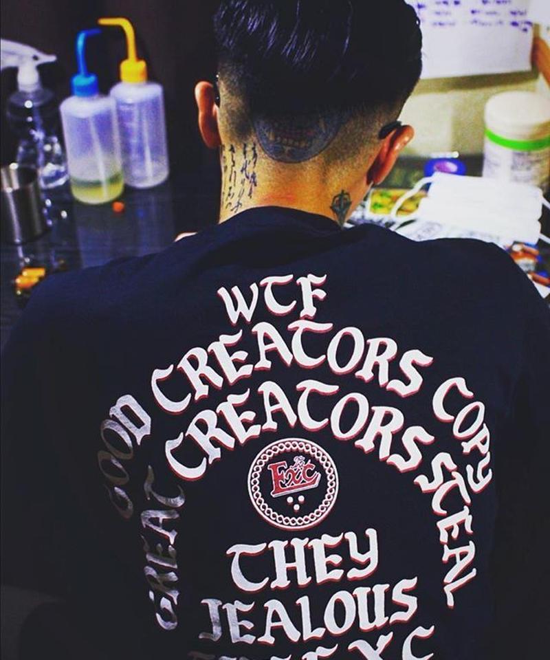 """""""CREATORS"""" (TS/ブラック) #EXC-TS03"""