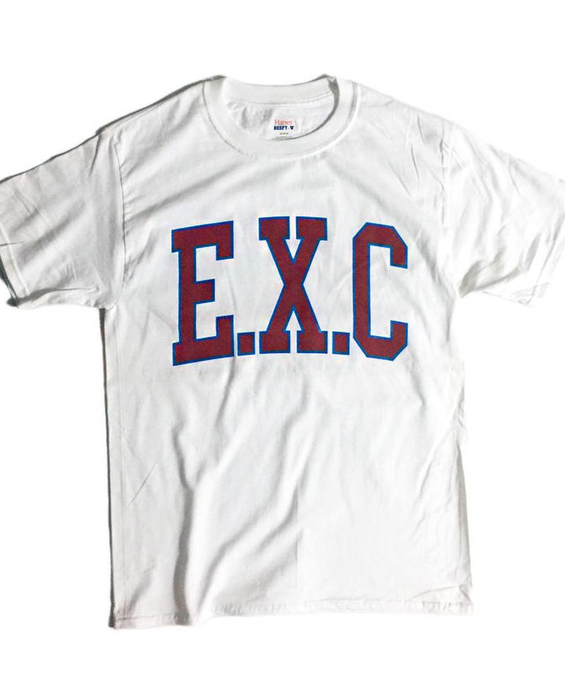 """ACADEMIC"" (BEEFY/ホワイト) #EXC-7TS04"