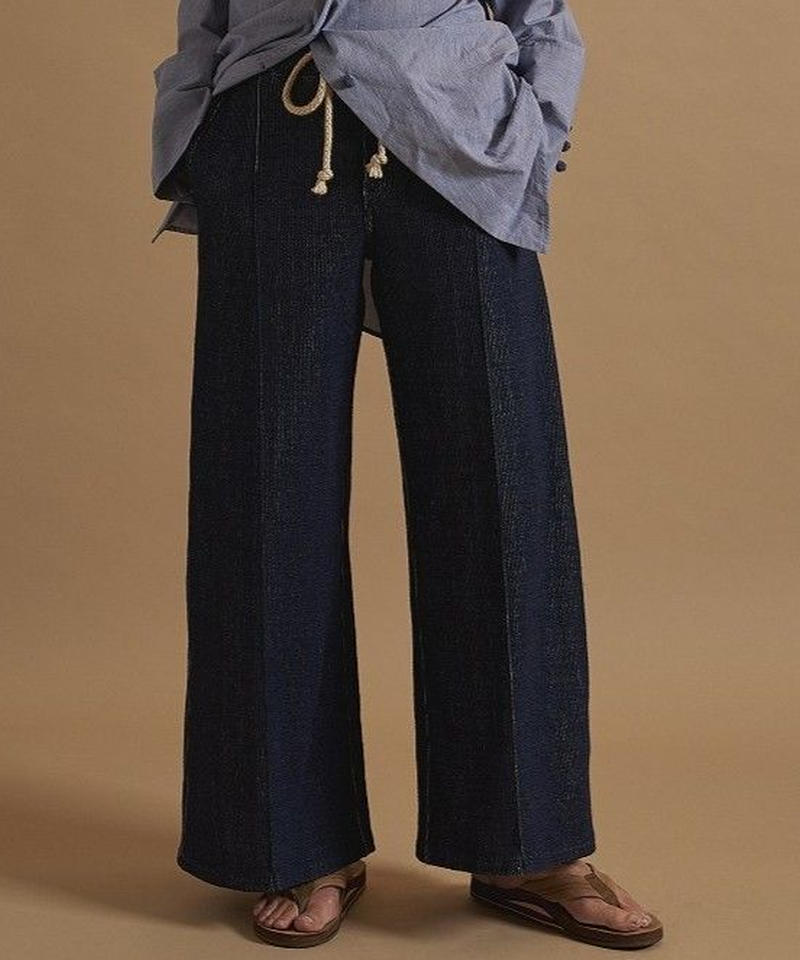 jonnlynx   indigo elastic pants