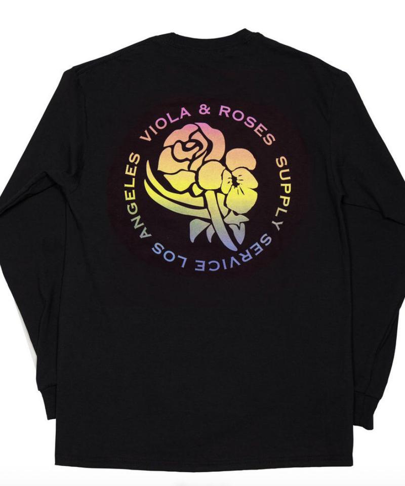 VIOLA&ROSES Gradient L/S T-shirt No.001