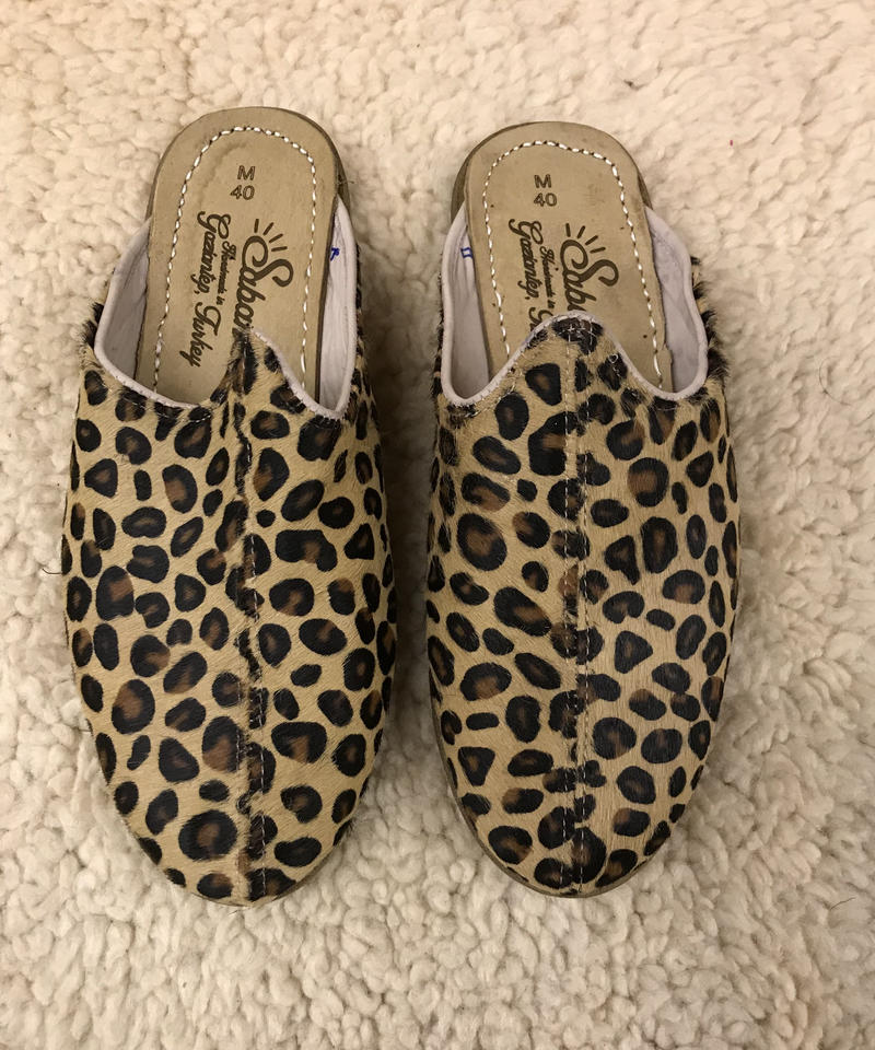 Sabah  (サバ)Baba nubuck leather LOOSE LEOPARD [HAIR-ON]