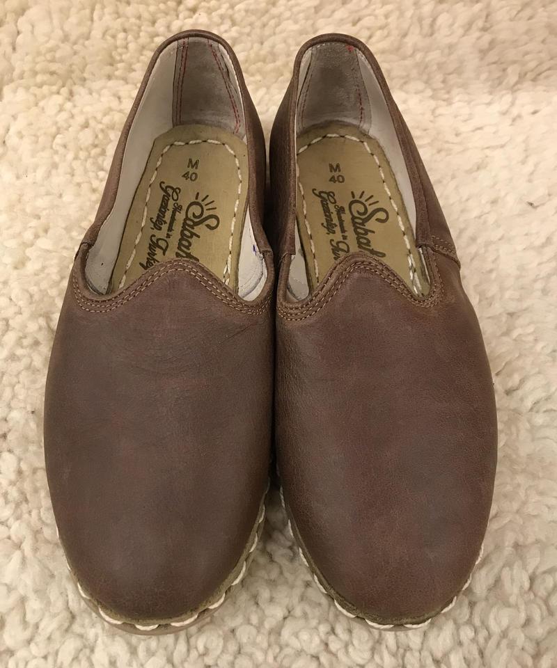 Sabah  (サバ)SLIP-ON smooth leather Bonsai Brown