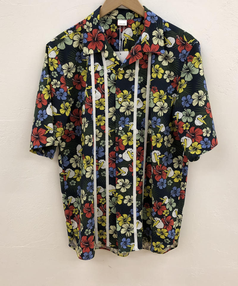 CHILDS S/S BLOOM BUTTONDOWN