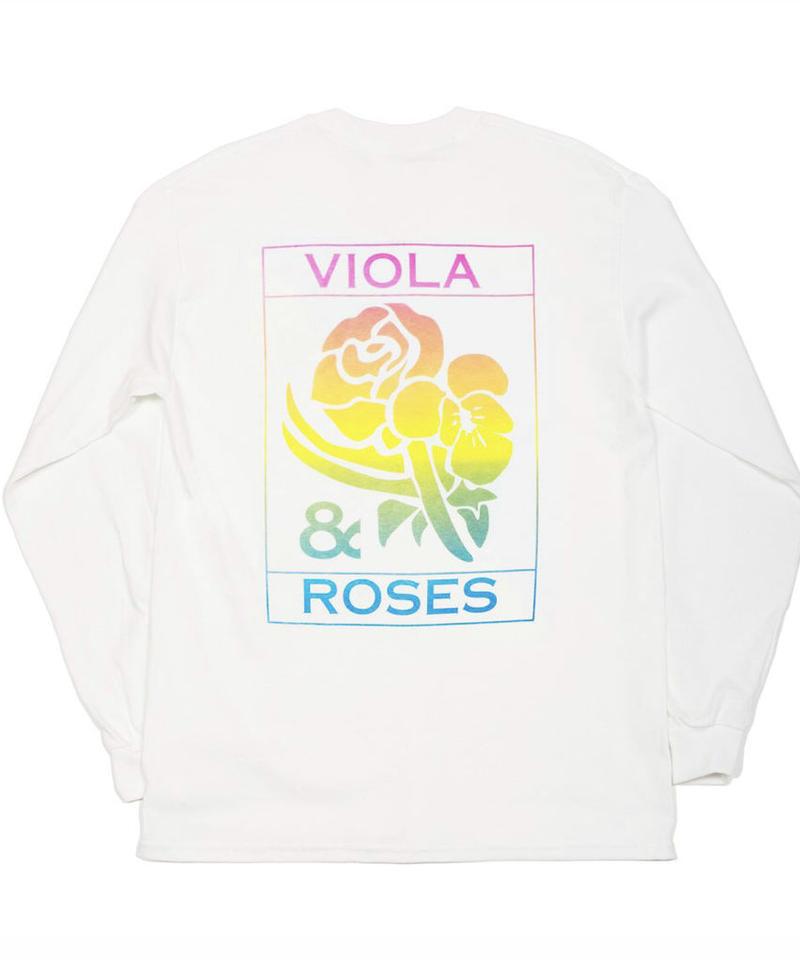 VIOLA&ROSES Gradient L/S T-shirt No.002
