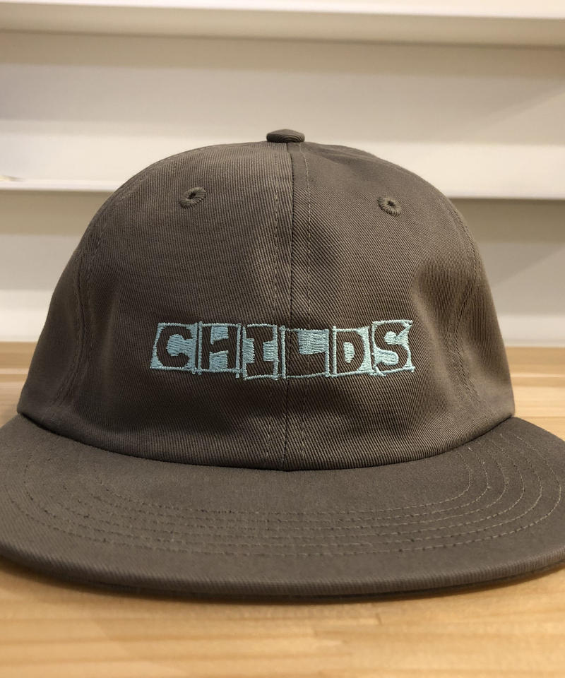CHILDS 6-PANEL EMBROIDERED NAME HAT