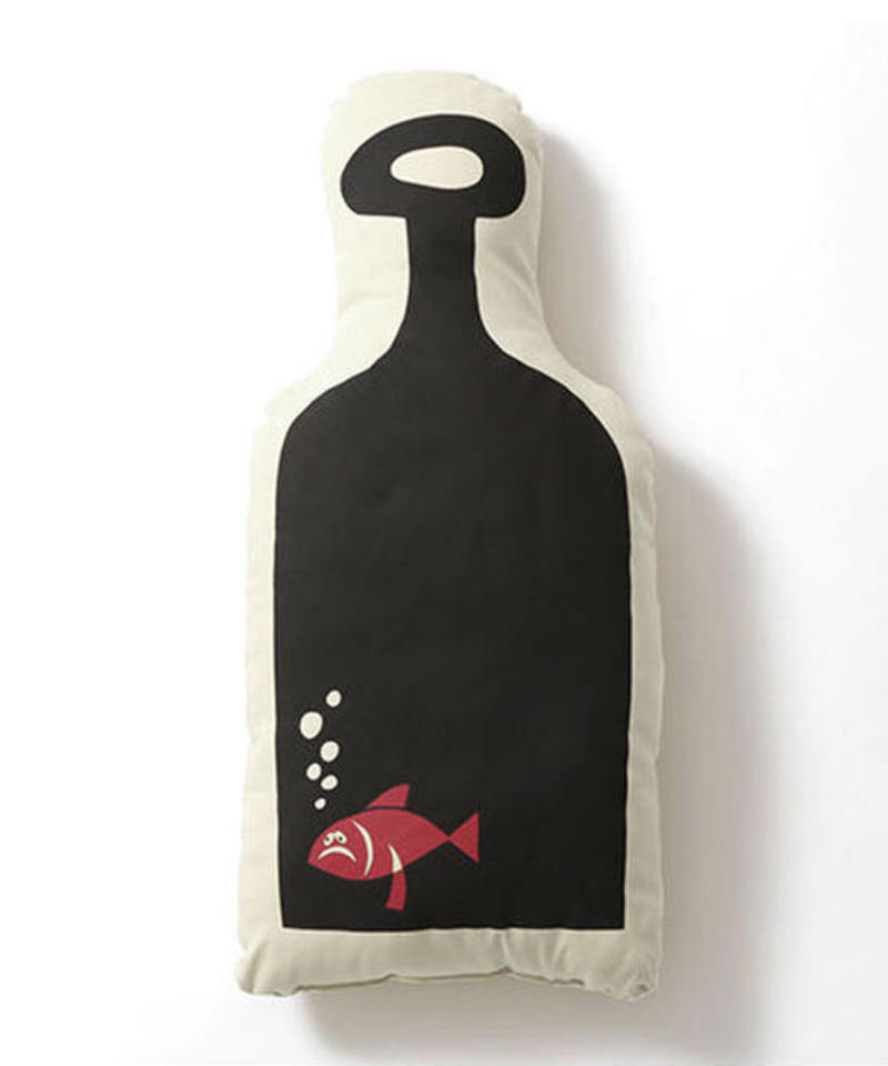 "Hanai Yusuke x Pacifica Collectives ""Bottle Fish Cushion"""