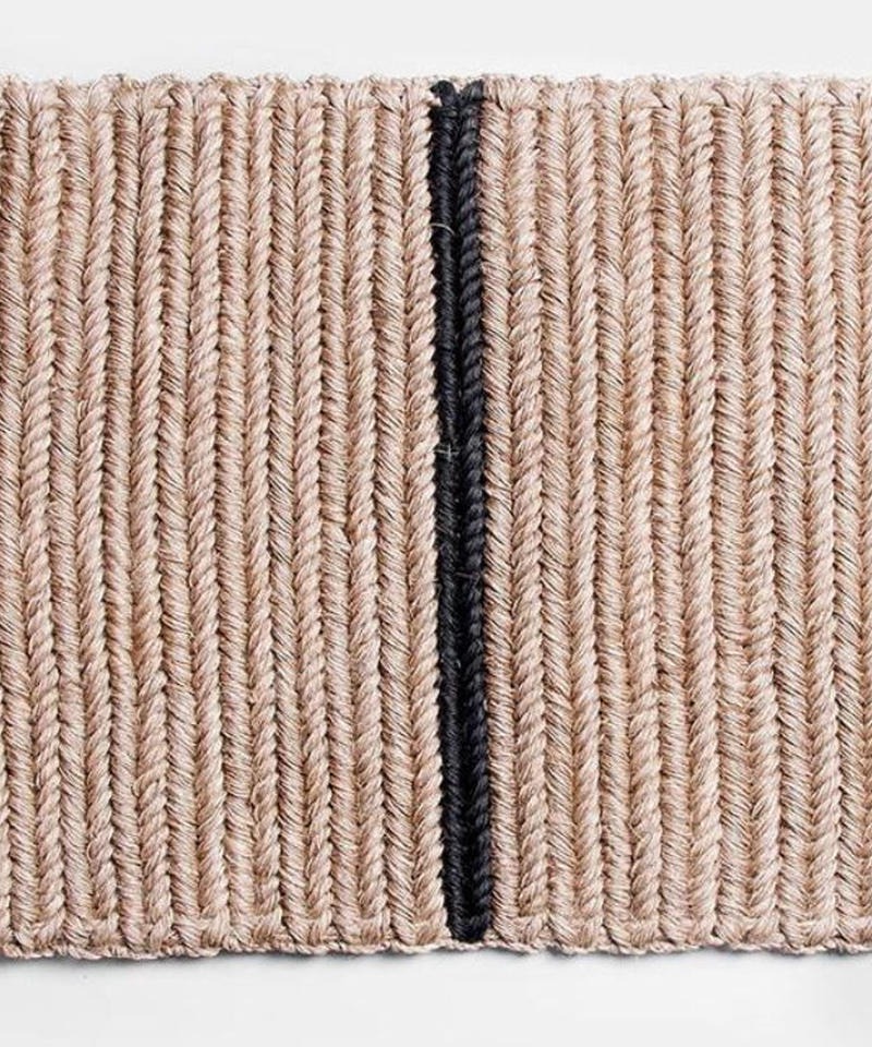 SOME WARE   BRAIDED DOORMAT