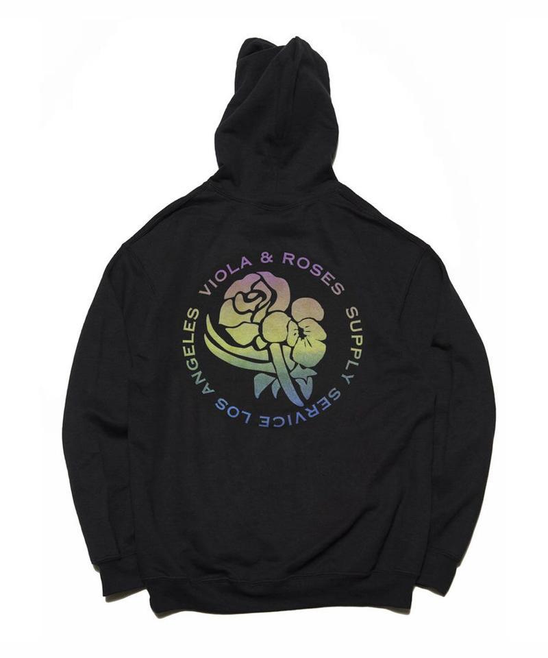 VIOLA&ROSES Gradient hoodie No.001