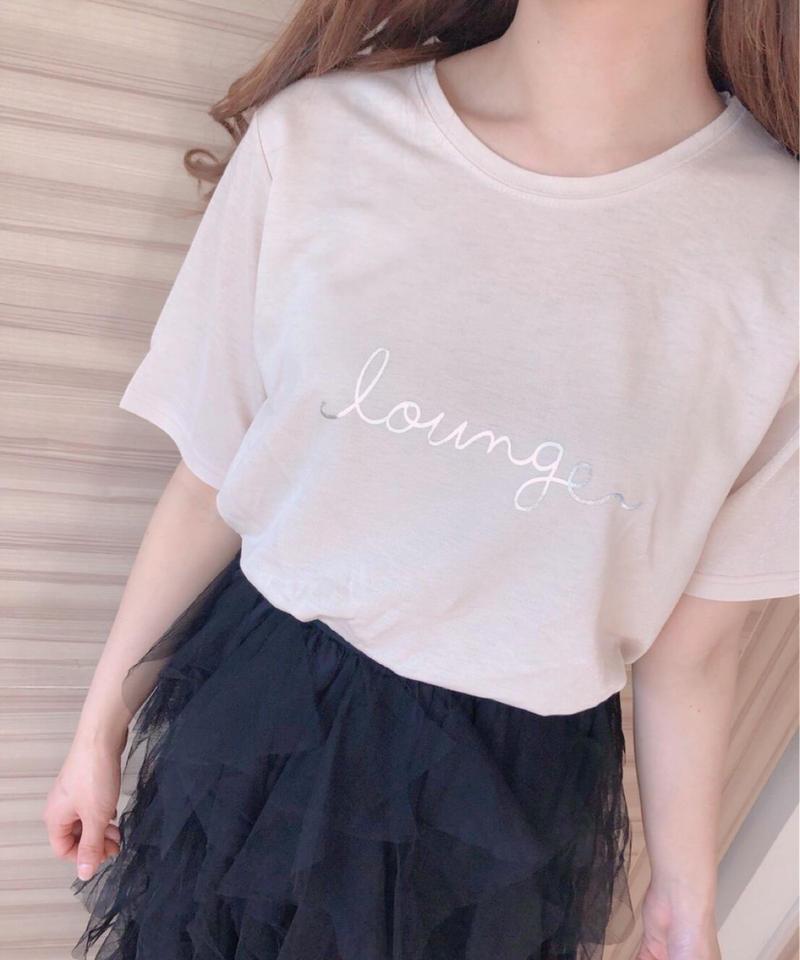 lounge   ロゴT シャツ