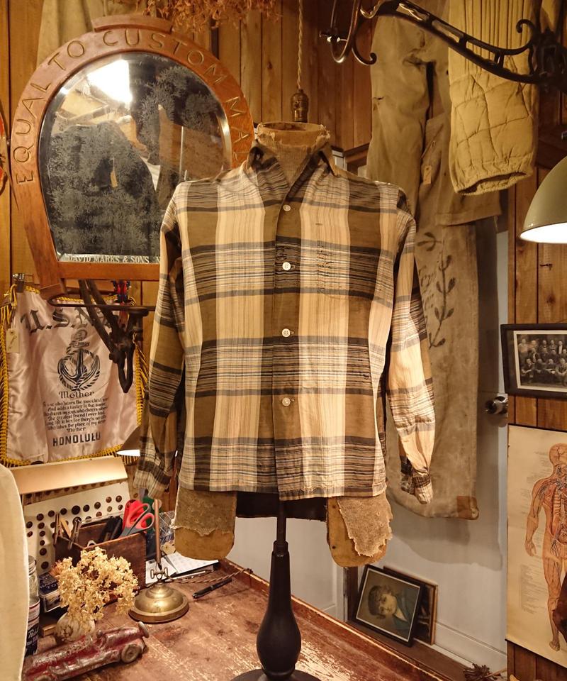 【 1960s TOWNCRAFT 】Rayon shirt.