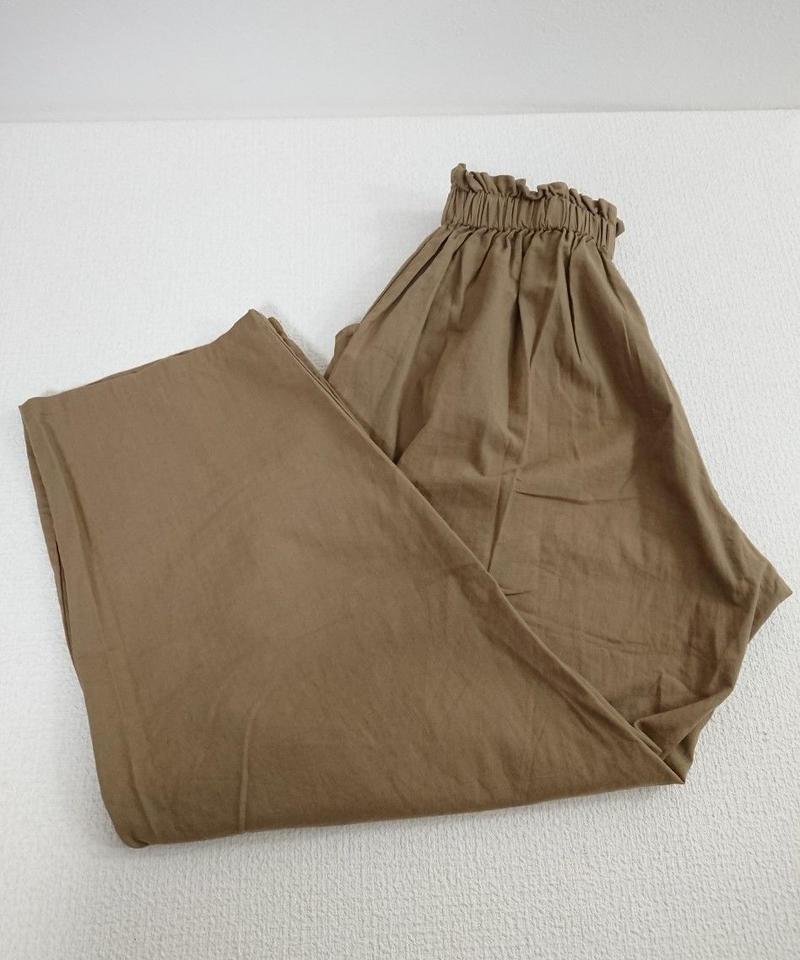 【Women's】Cotton wide  pants