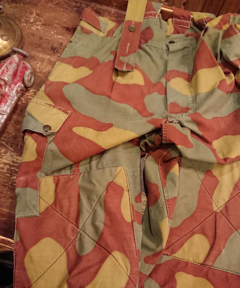 【 1950s~ Italian Army 】  camouflage pants.