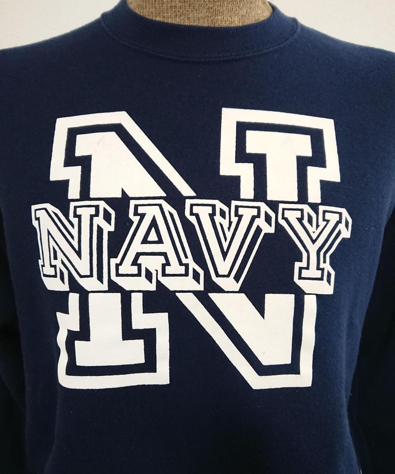 【 1980s~  SOFFE SWEATS 】U.S.NAVY PX Sweat shirt.