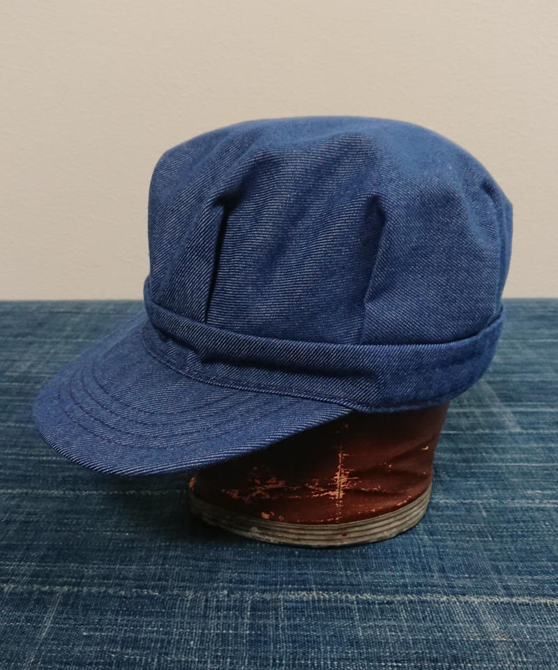 1970s~  Dungaree  work cap.