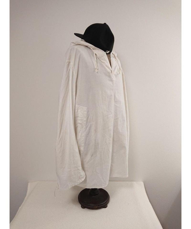 Vintage  White cotton smock