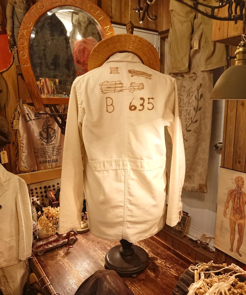 【 1970s~ AMBASSADOR UNIFORM CO. 】Work Jacket.