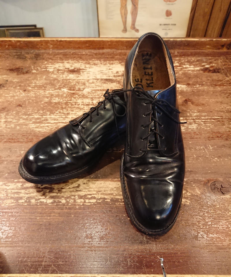 【 1980s U.S.NAVY 】 Service Shoes.  「SIZE  8 N」