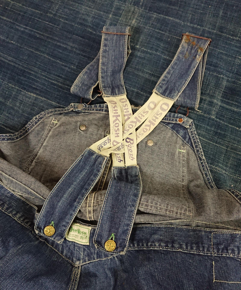 【 1950s  OSHKOSH Bgosh 】Denim Overall.