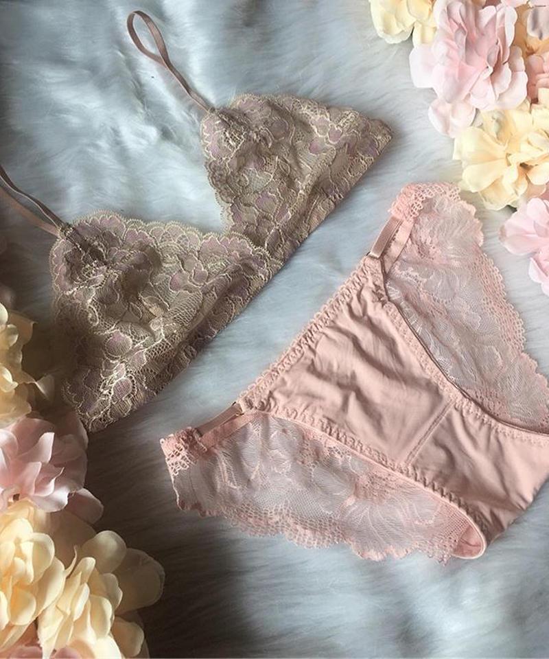 beige × pink