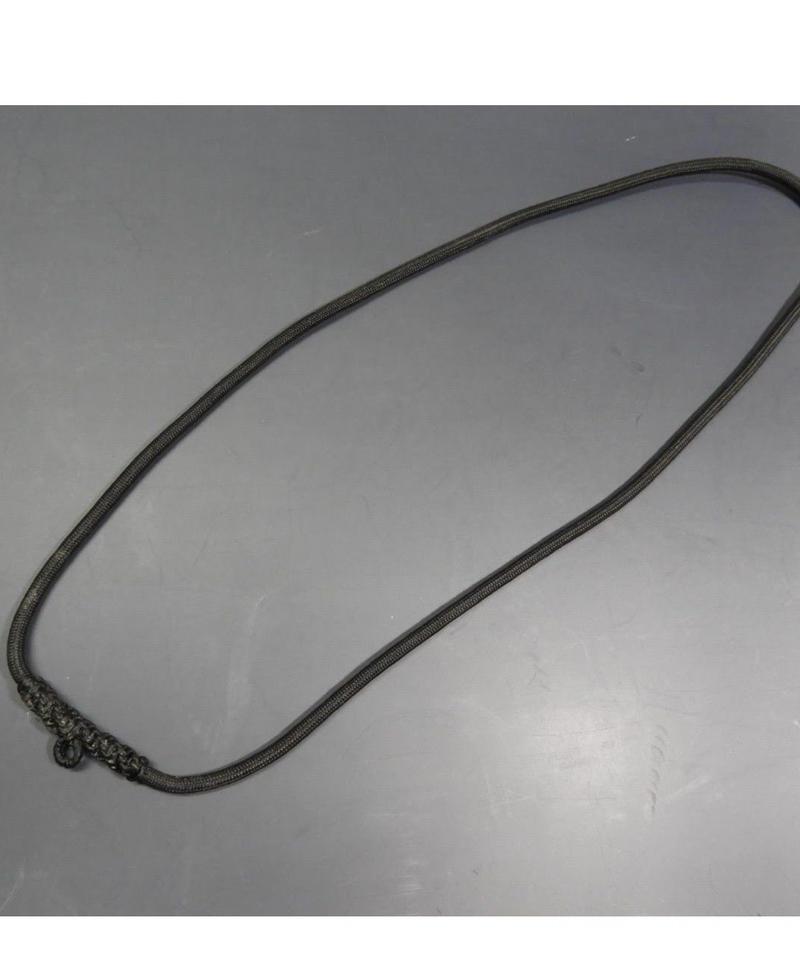 プラクルアン用ソイ(ネックレス)黒 編み込みタイプ ロング