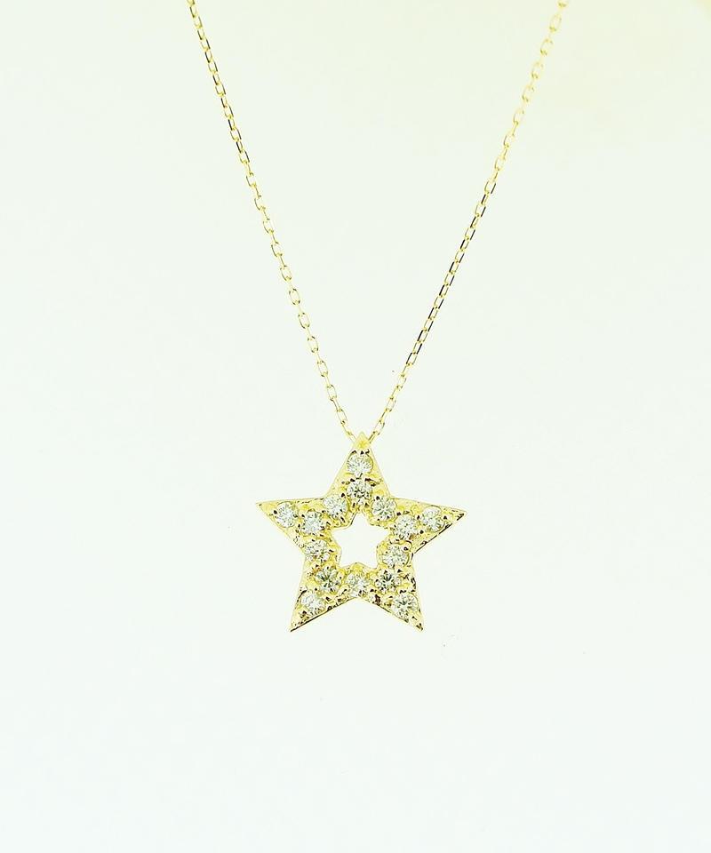 21041-361 K18YG D0.2ct Star/N
