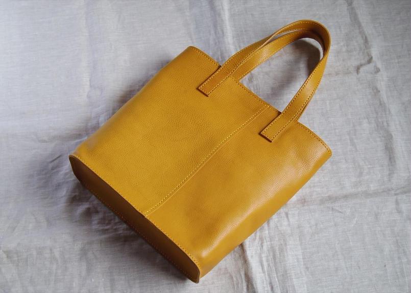 【受注生産】A4サイズのバケツトートバッグ
