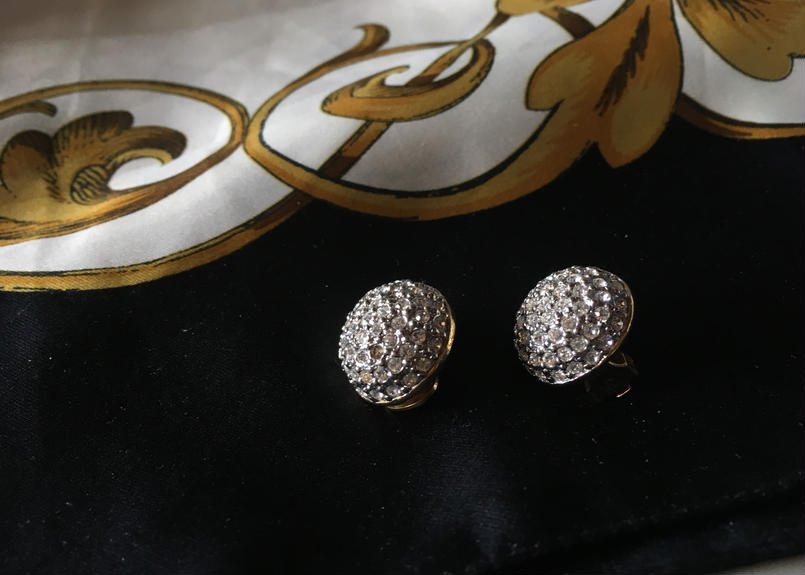 from France, vintage Earing イヤリング フランスアンティーク