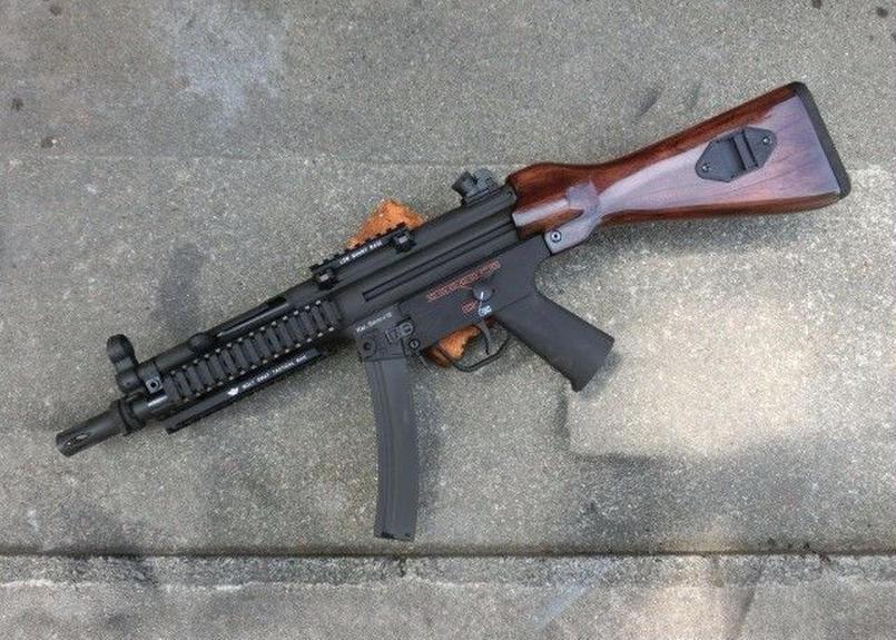 受注 BOLT MP5用 ウッドストック製作