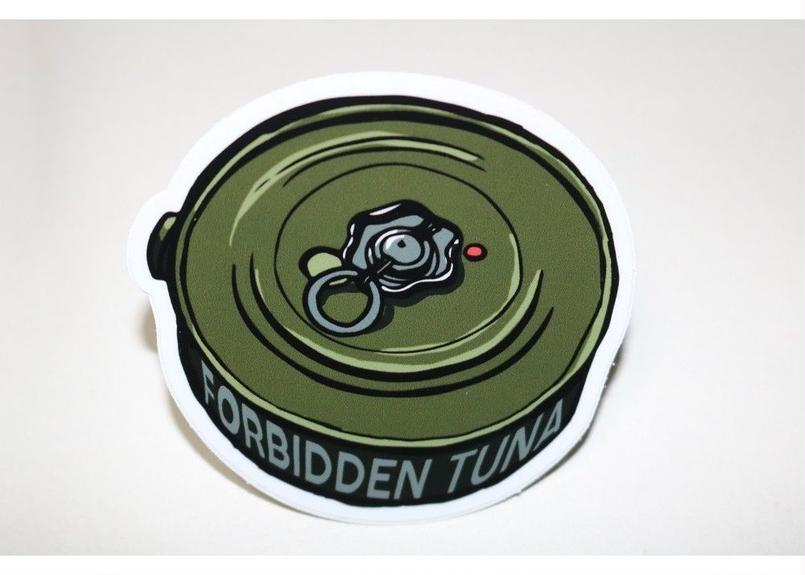 Marp FORBIDDEN TUNA sticker