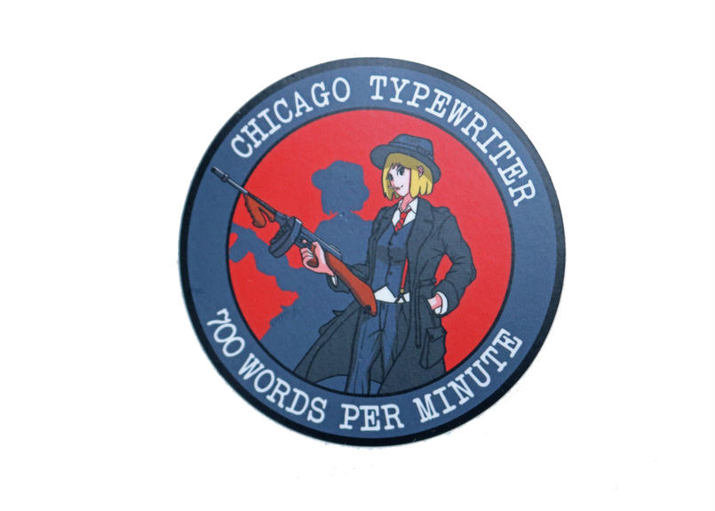 Marp CHICAGO TYPEWRITER sticker