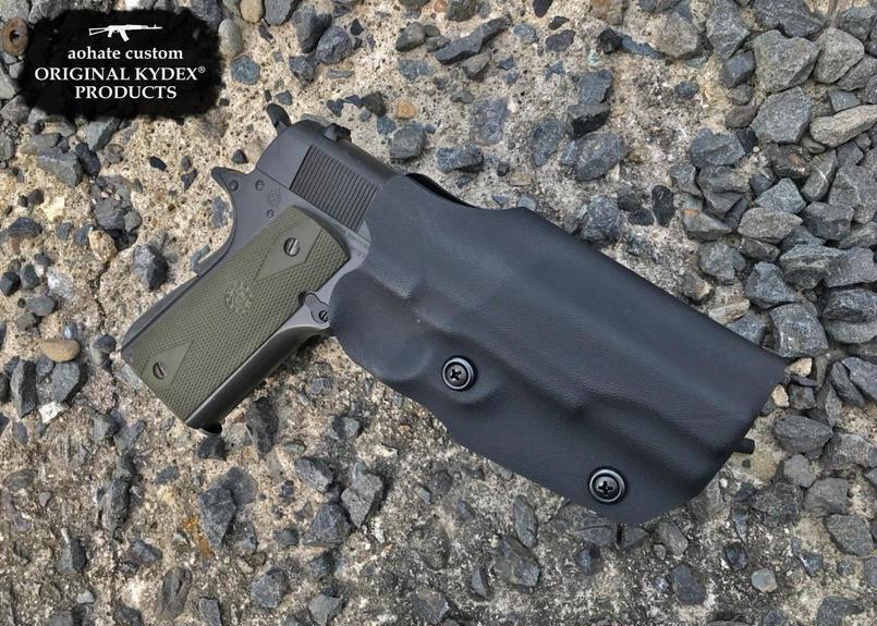 マルイ GBB M1911A1用Kydex®ホルスター BK