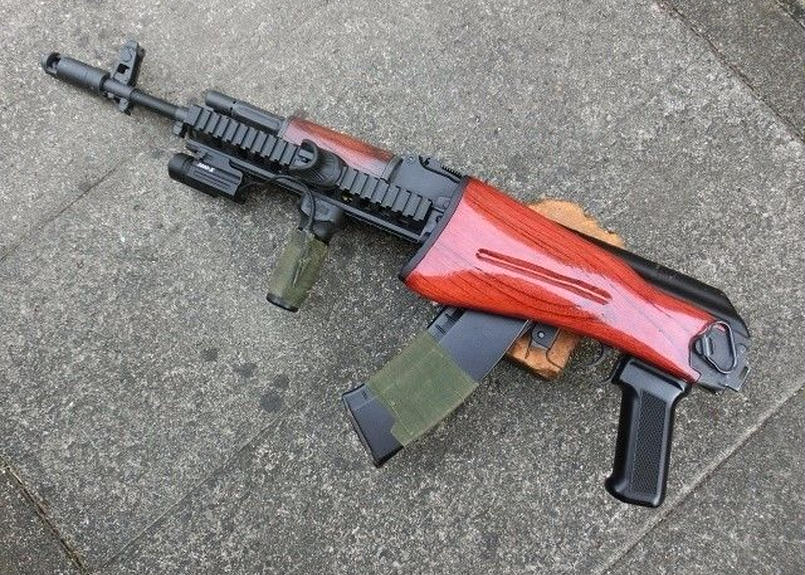 受注 折り畳み式ウッドストック製作 次世代AKS74N・AK102用