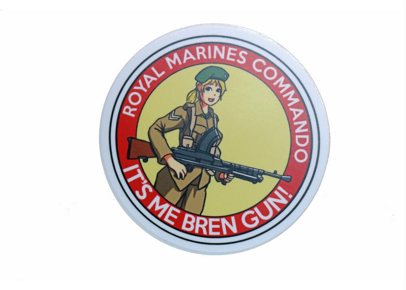 Marp IT'S ME BREN GUN! sticker