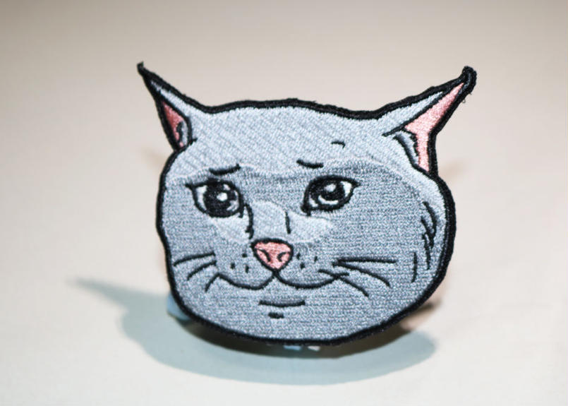 Marp SAD CATTE velcro patch