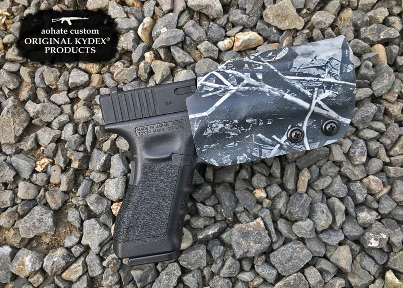 マルイGBB GLOCK17用KYDEX®Holster/Harvest Moon Camo